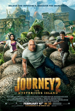 Poster Of Journey 2 The Mysterious Island (2012) Full Movie Hindi Dubbed Free Download Watch Online At worldfree4u.info