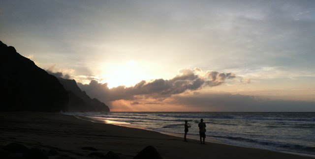 Kalalau beach, Na Pali Coast - Kauai - Hawaï, USA
