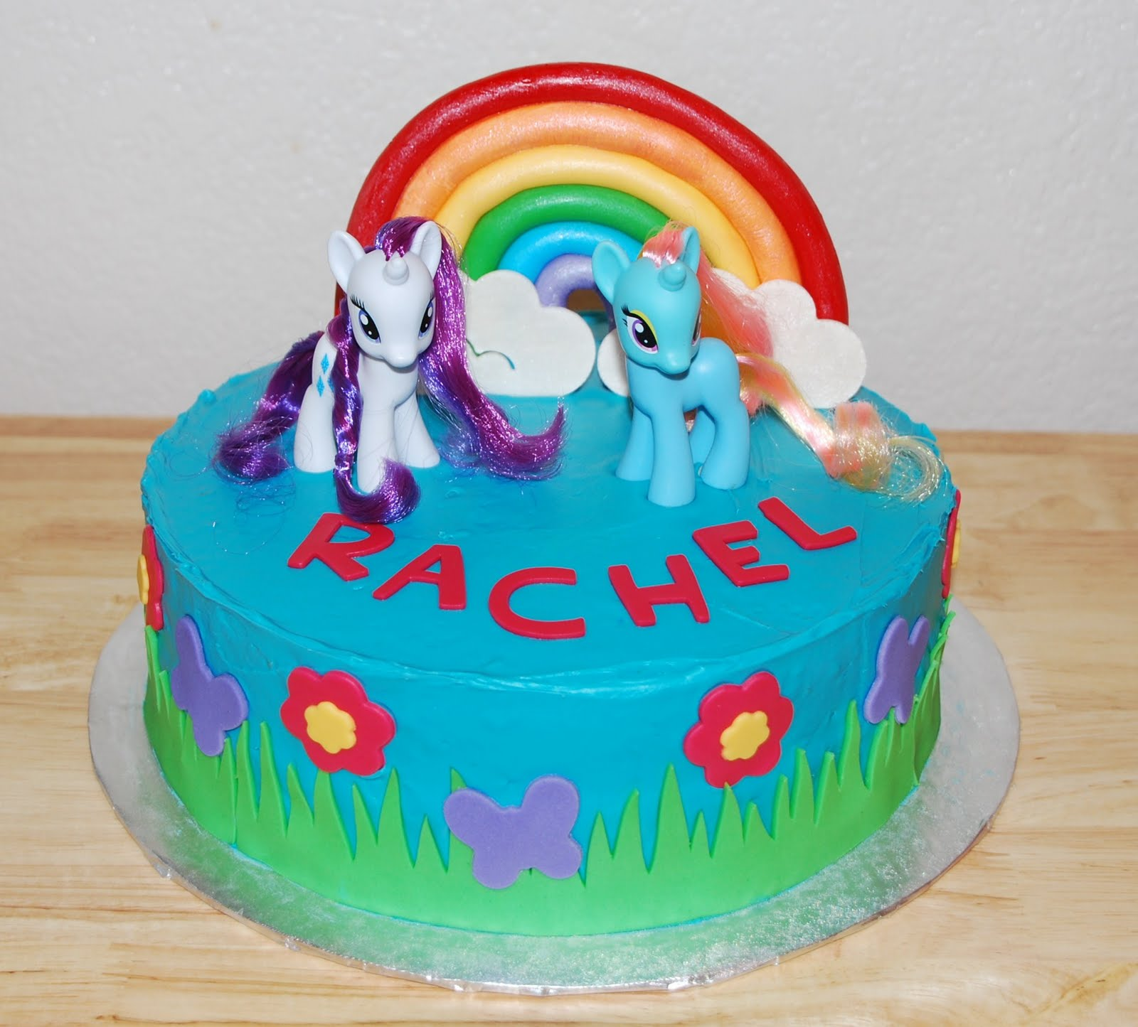 Creative Cakes By Rochelle: My Little Pony Cake