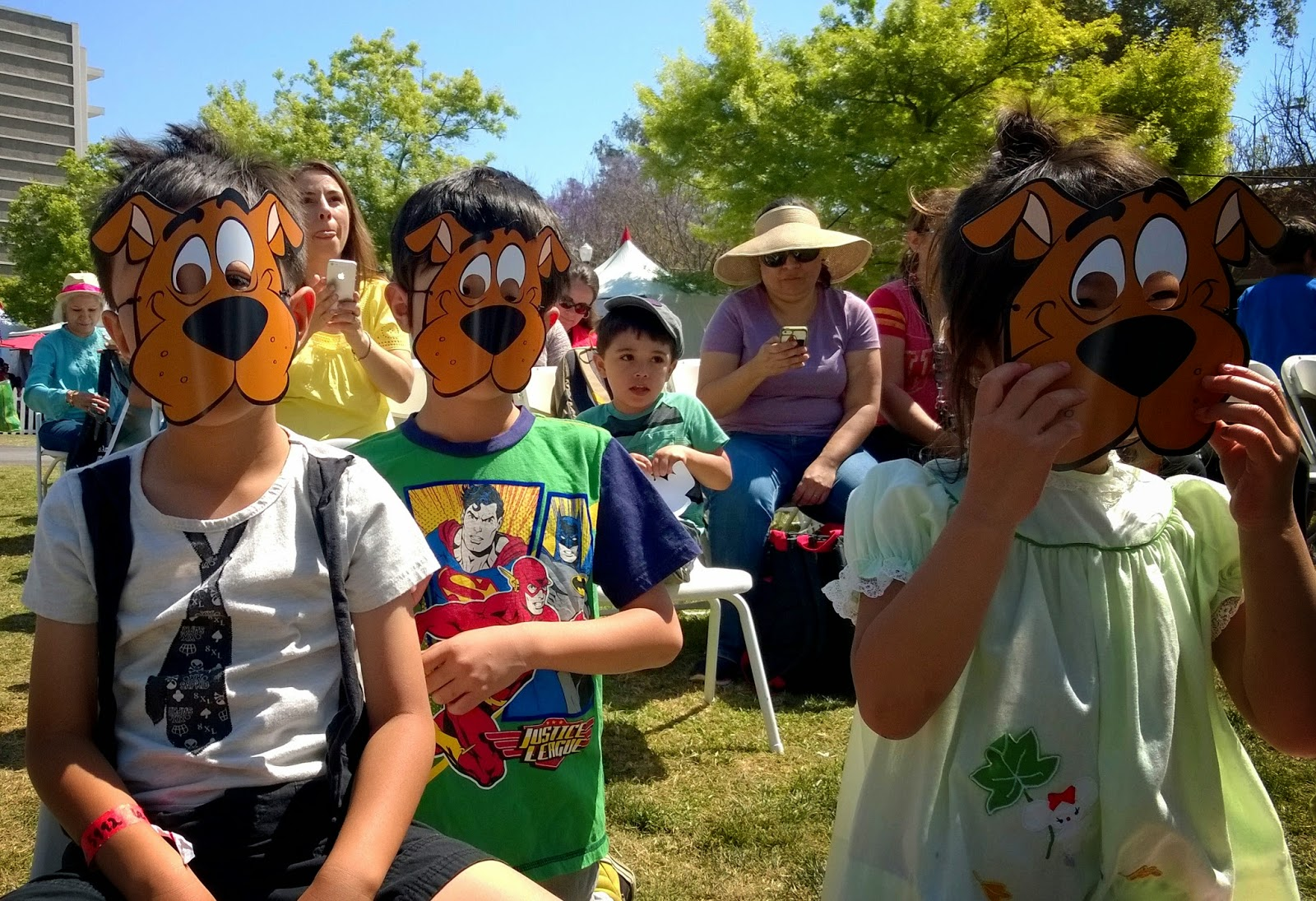 Scooby Doo at the Festival of Books