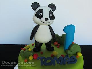O Panda no 1º aniversário do Tomás
