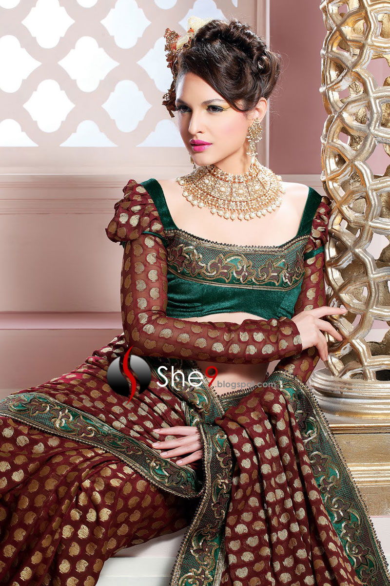 Different Types Of Party Wear Sarees 89