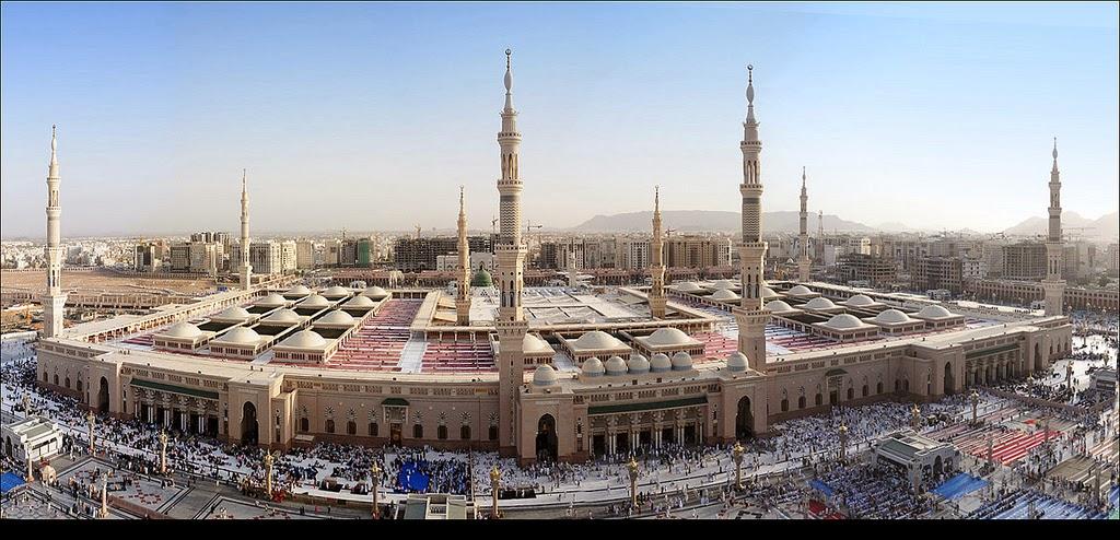 Masjid Nabawi Di Madinah Saudi Arabia Majalah Masjid Kita