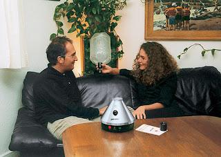vaporizar reduce riscos, volcano