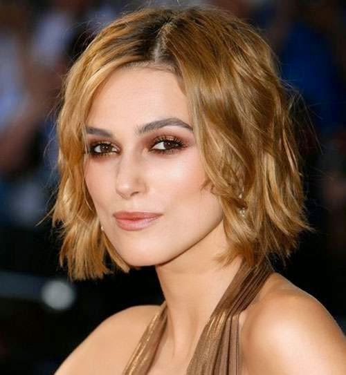 Keira Knightley Short Celebrity Hairstyles