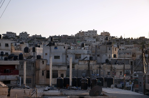Jalezon, acampamento de refugiados palestinos - Cisjordania