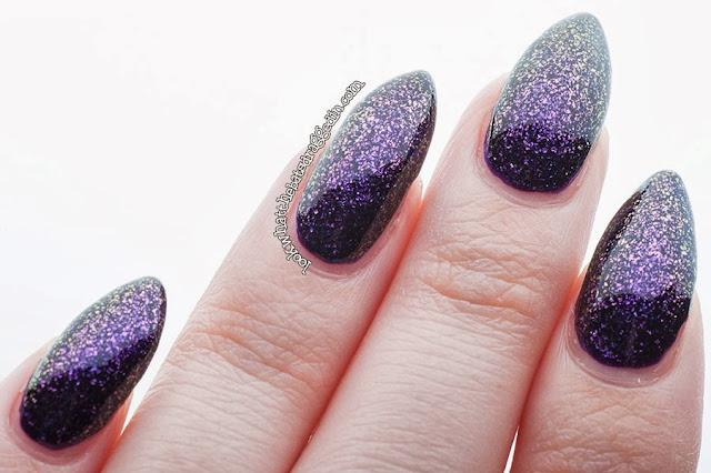 Sayuri nail lacquer polish swatch multichrome psychadelia