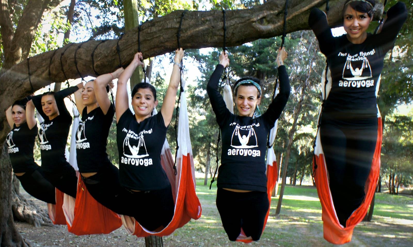 Pilates Aereo Yoga Aéreo México AeroYoga