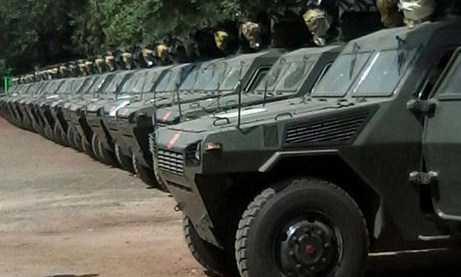 Polisi Kenya Telah Menerima 30 Kendaraan Lapis Baja baru 4x4 VN4 buatan Cina