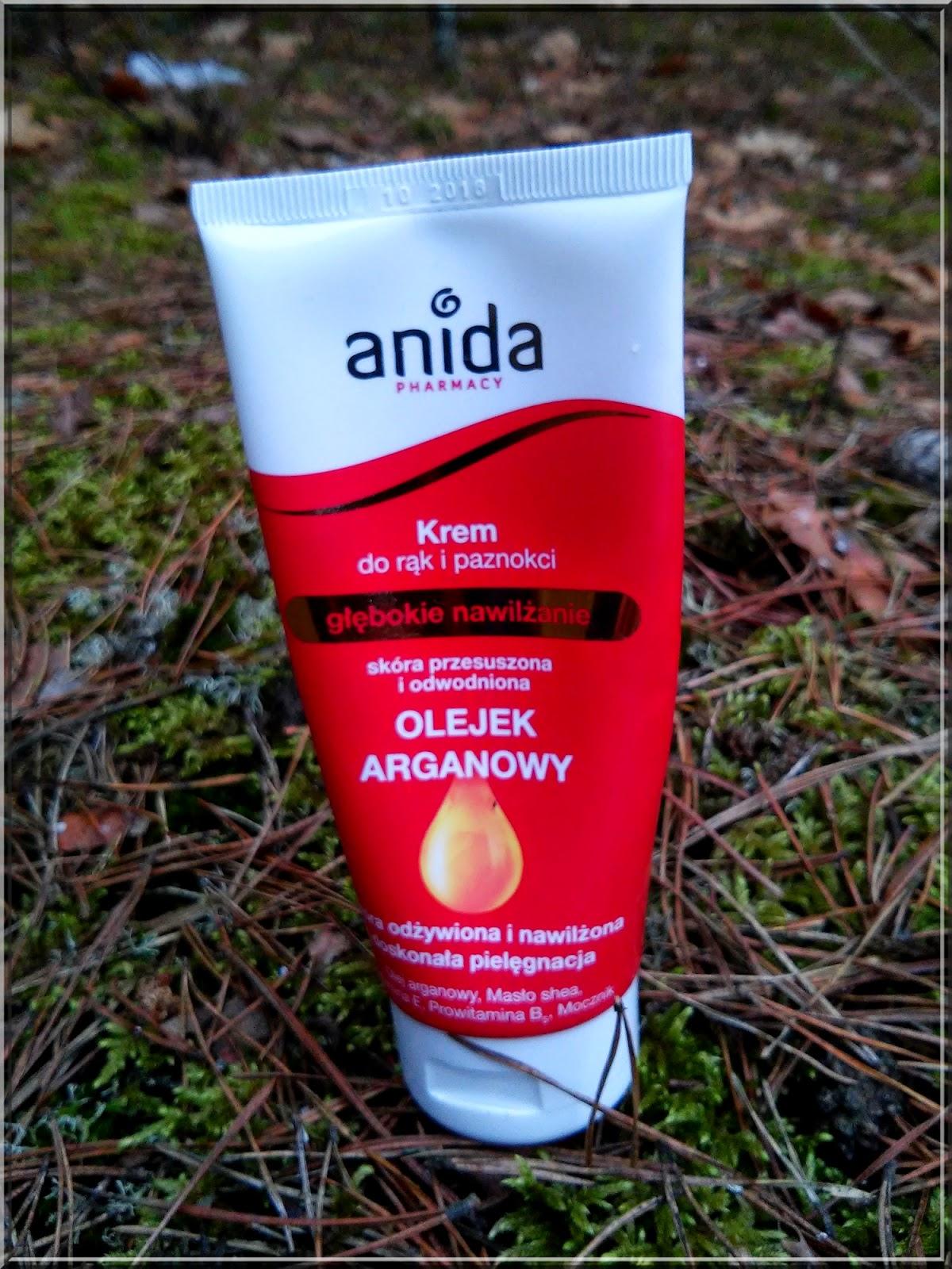 Anida, Krem do rąk i paznokci z olejkiem arganowym