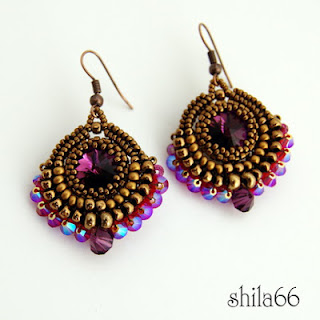 beadwork beaded blogs of beaders bead weaving seed bead earrings