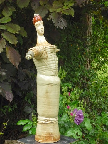 Atelier des 3 Bouleaux: sculptures au jardin