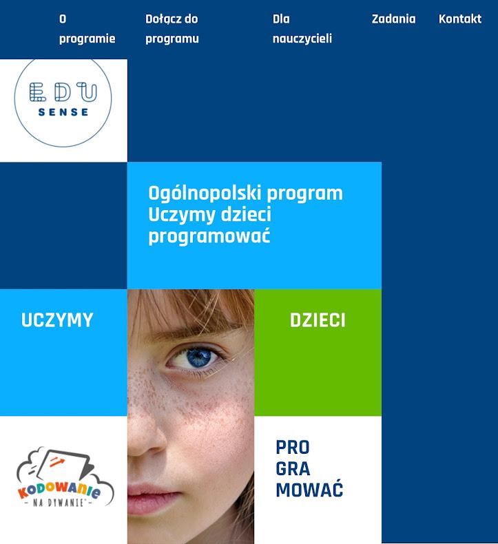 Uczymy Dzieci Programować - I edycja ogólnopolskiego programu