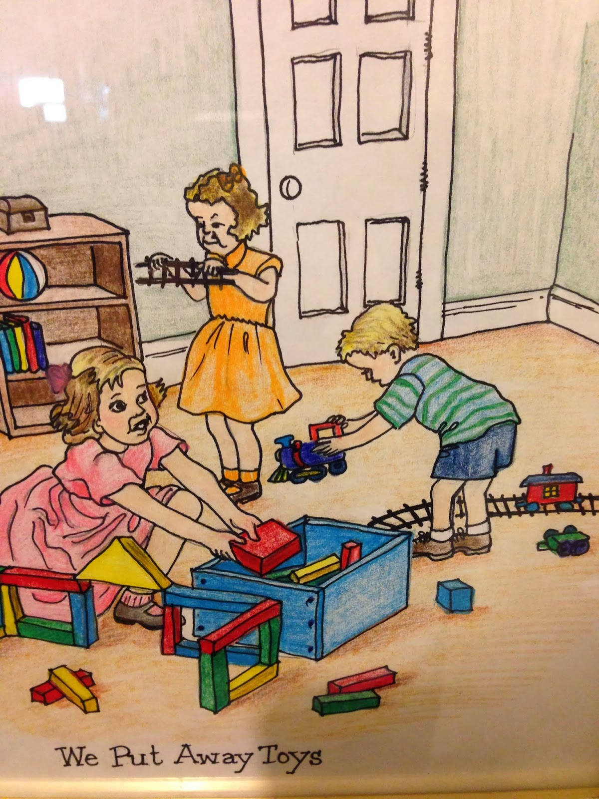 Put Away Clothes En Espanol ~ The gallery for gt children putting toys away