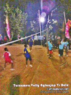 Nglanjep Vs Bulu - Semifinal Volly Putra Ngambarsari