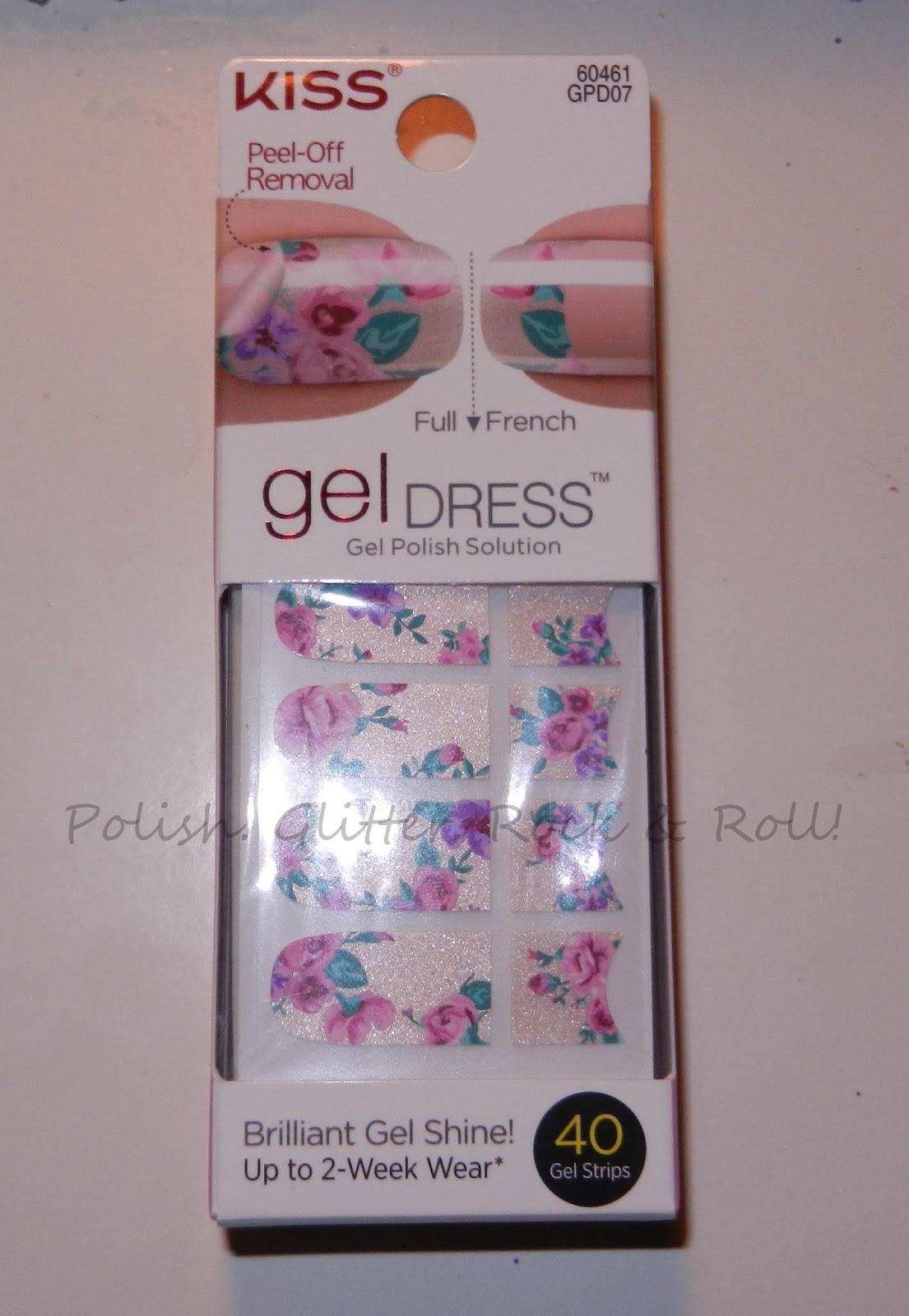 Polish. Glitter. Rock & Roll!: Kiss Gel Dress Sugar & Spice