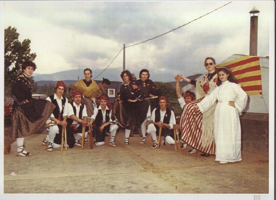 DANZANTES VERA DE MONCAYO. AÑO 1982