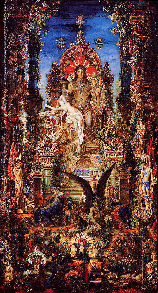 One Hundred Views Of The World Gustave Moreau Hieroglyphic Myth