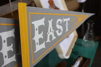 East Nashville flag pennant Pine Street Makery