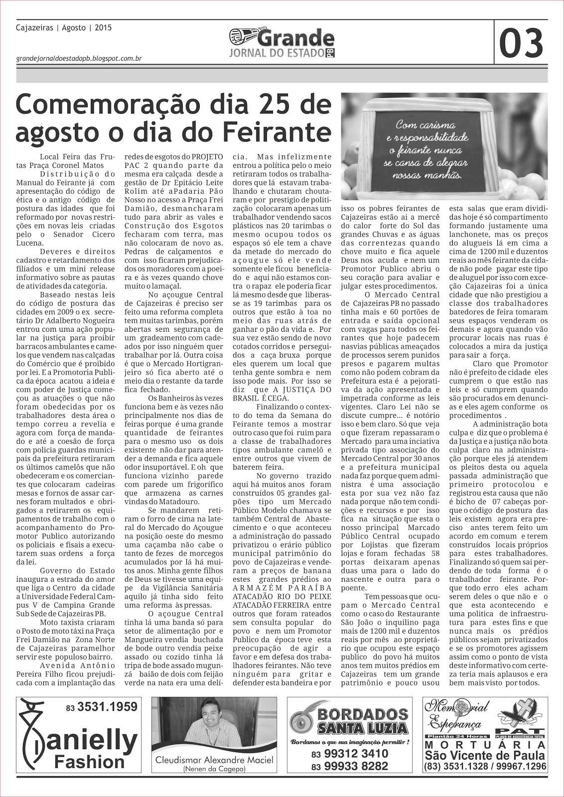 DIA  DO FEIRANTE