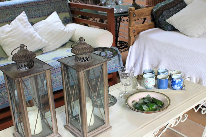 Consaboravintage decorar el porche de casa for Decorar porche casa