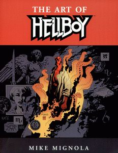 Cover of The Art of Hellboy (Mike Mignola)