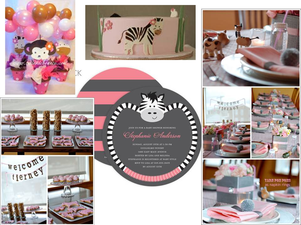 modern baby shower themes for girls modern baby girl shower
