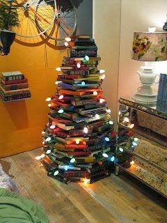 árvore de livros