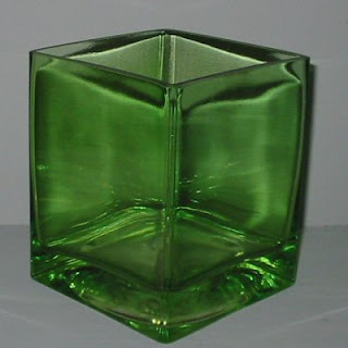 Order Wholesale Green Glass Cubes