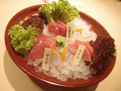 Hon Maguro Sashimi