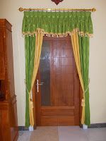 gorden pintu rumah
