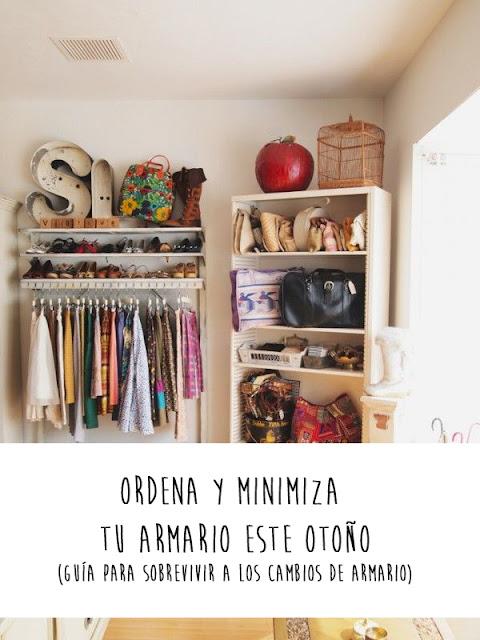 Ordena y minimiza tu armario este otoño