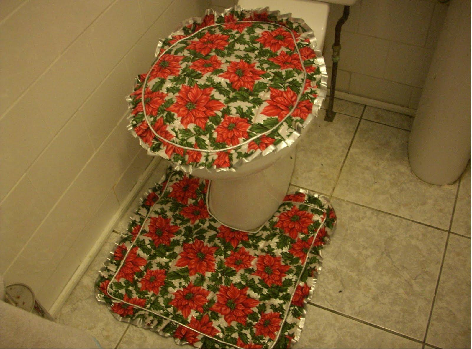 Decoracion navidad cobertor para inodoros - Fotos de inodoros ...