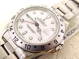 ROLEX EXPLORER II WHITE POLAR DIAL 40mm - ROLEX 16570 SERIE U YEAR 1998 - AUTOMATIC CAL 3185