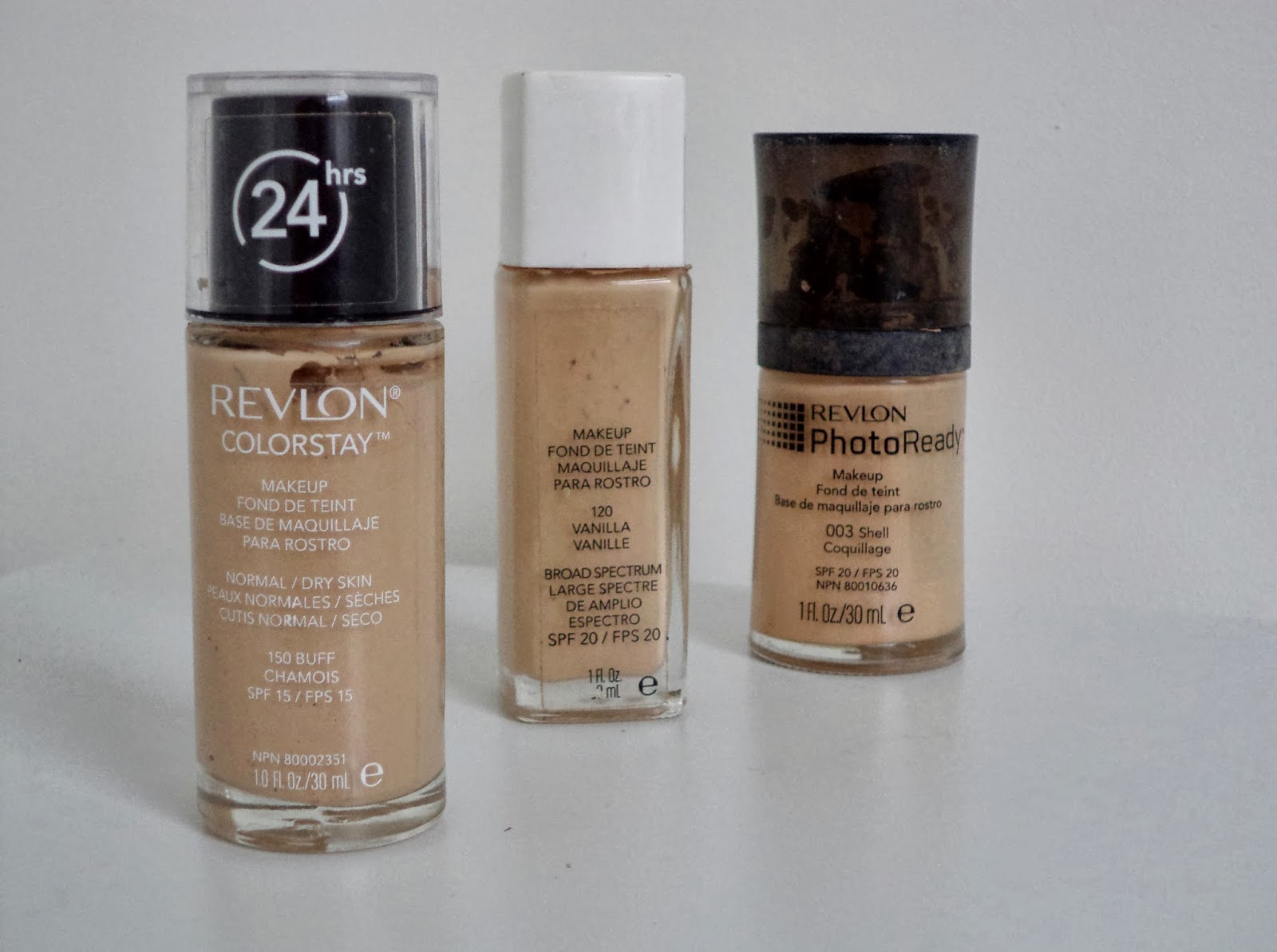revlon foundations