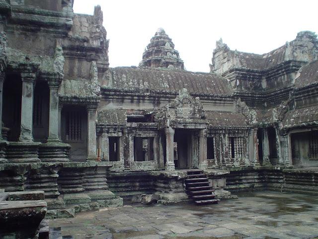 Complex of Angkor - Cambodia