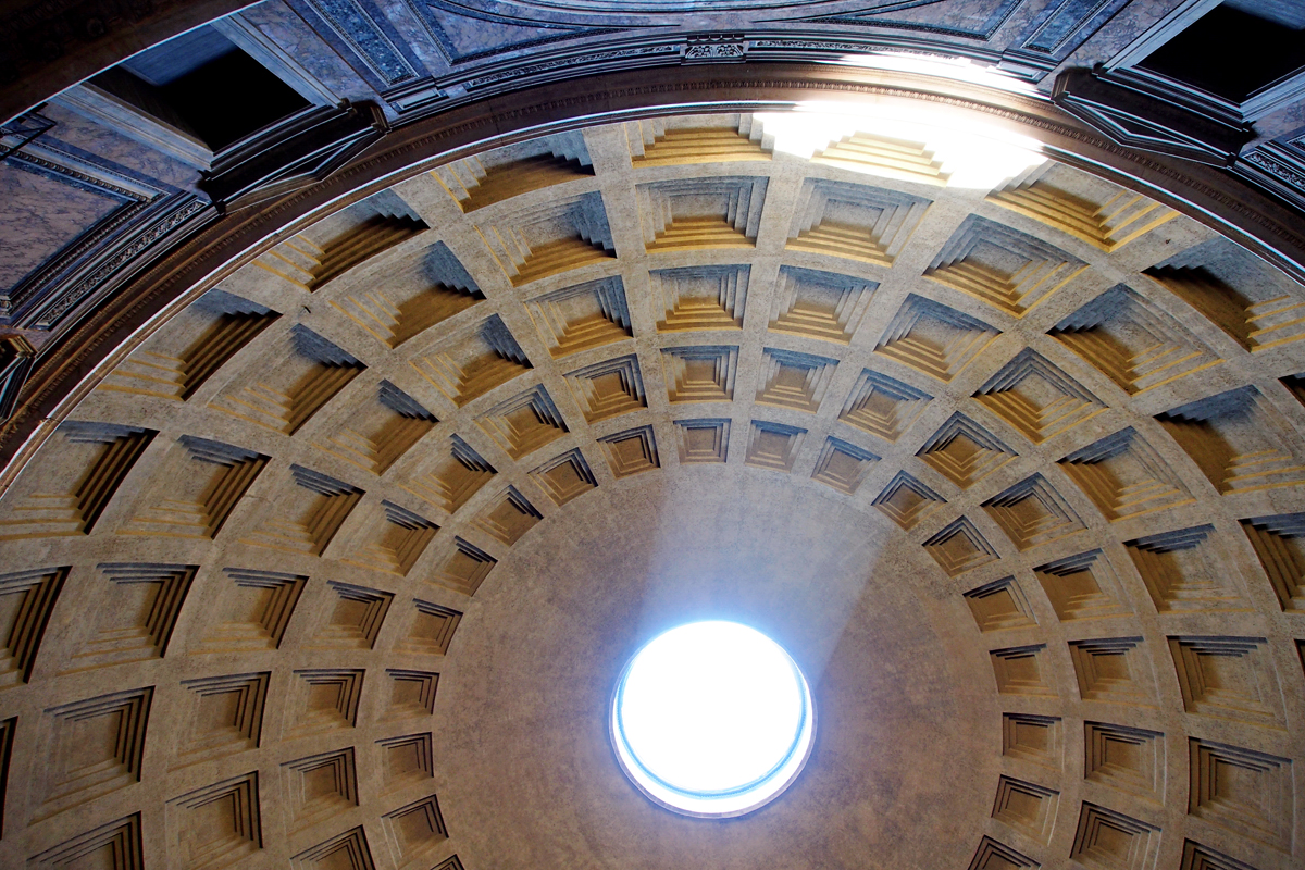 """Roms Altstadt – Ein Sehenswürdigkeiten-Rundumschlag // das Pantheon - """"Fee ist mein Name"""""""