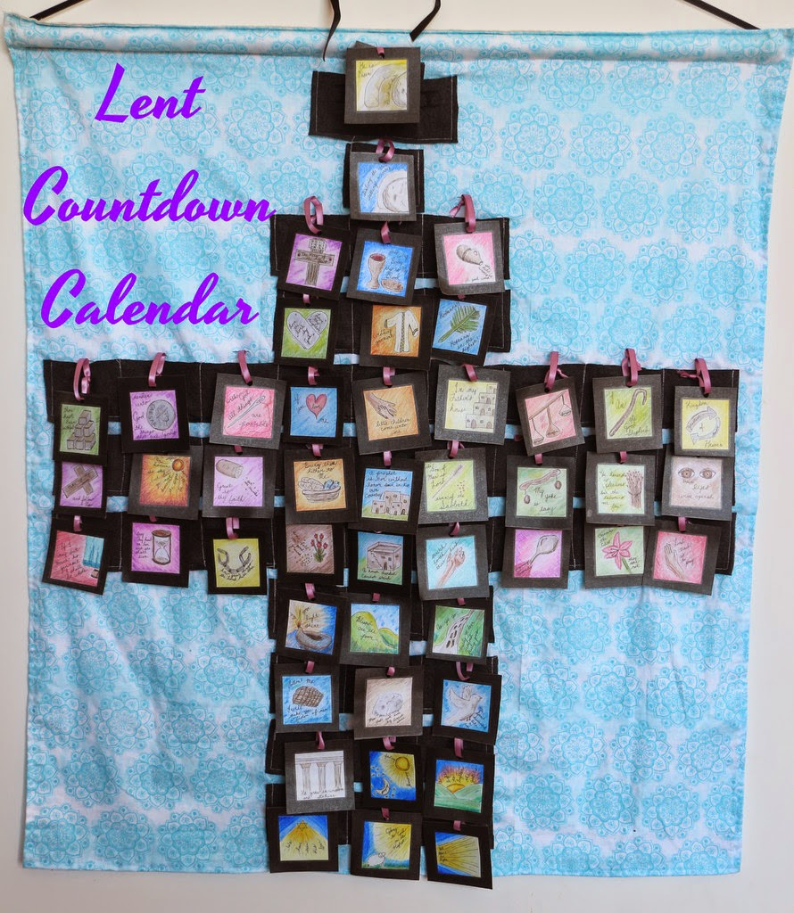 The do it yourself mom diy lent or easter countdown calendar diy lent or easter countdown calendar solutioingenieria Gallery