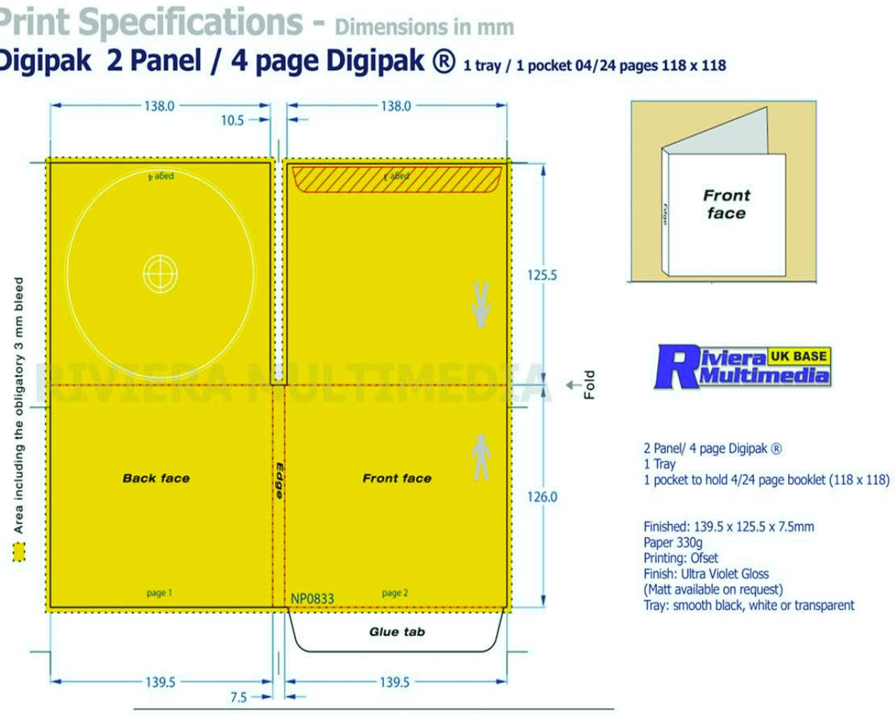 grace moxon a2 media digipak template. Black Bedroom Furniture Sets. Home Design Ideas