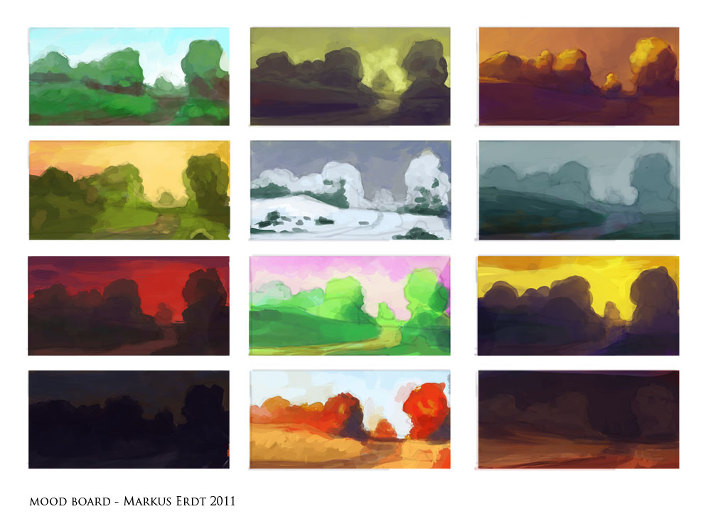Markus Erdt Artbook Color Mood And Textures