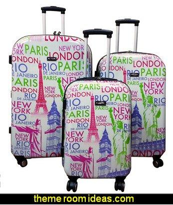 World 3 Piece Luggage Set
