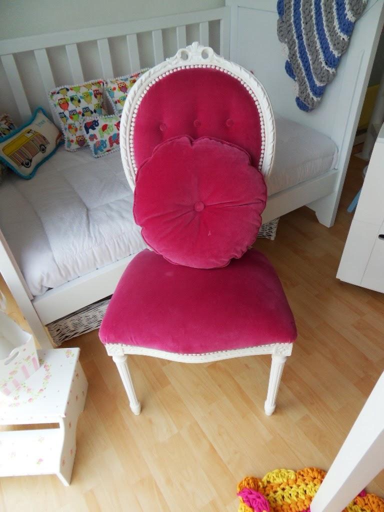 Sillas para escritorios tapizadas con aire vintage - Sillas tapizadas vintage ...