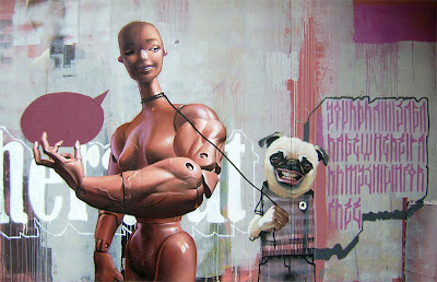 photorealistic graffiti - modern graffiti art