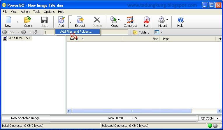 ILMU KOMPUTER: Cara Membuat File Menjadi Bootable