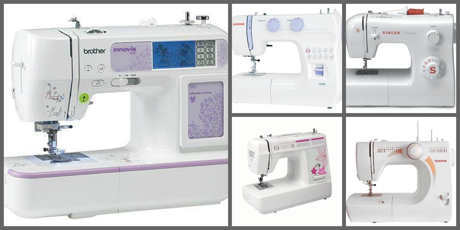¿Cuál máquina de coser comprar? - Coser es fácil