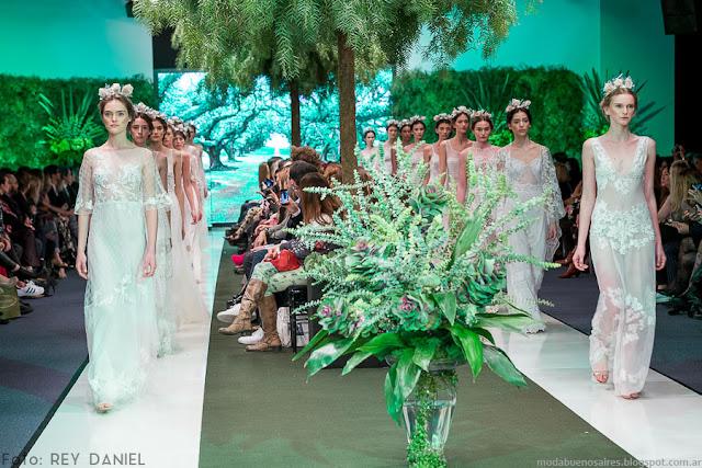 Pía Carregal primavera verano 2016. Argentina Fashion Week 2016.