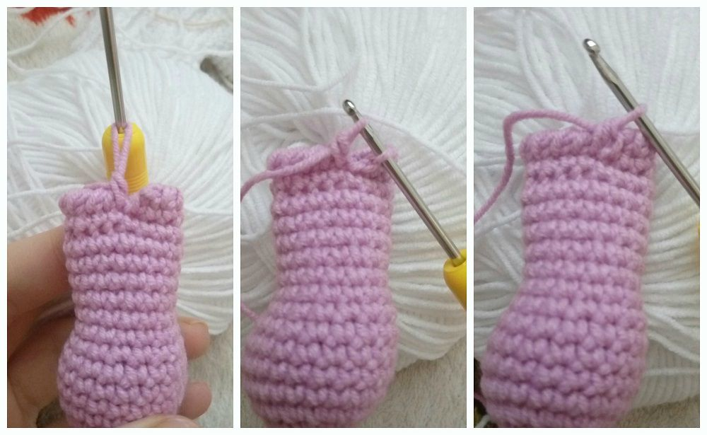 Crochet Bunny Boots