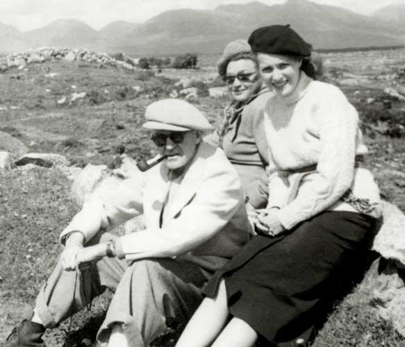 Maureen O'Hara y John Ford