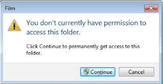 Permission Access Folder