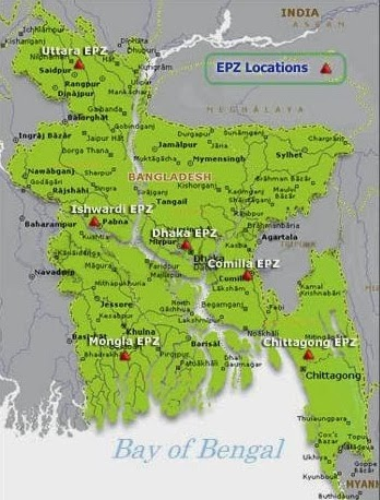 Export Processing Zone (EPZ) in Bangladesh